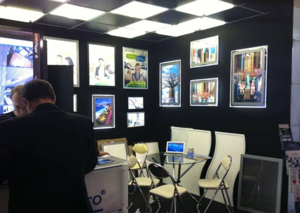 Наш стенд на выставке Interlight Moscow 2014