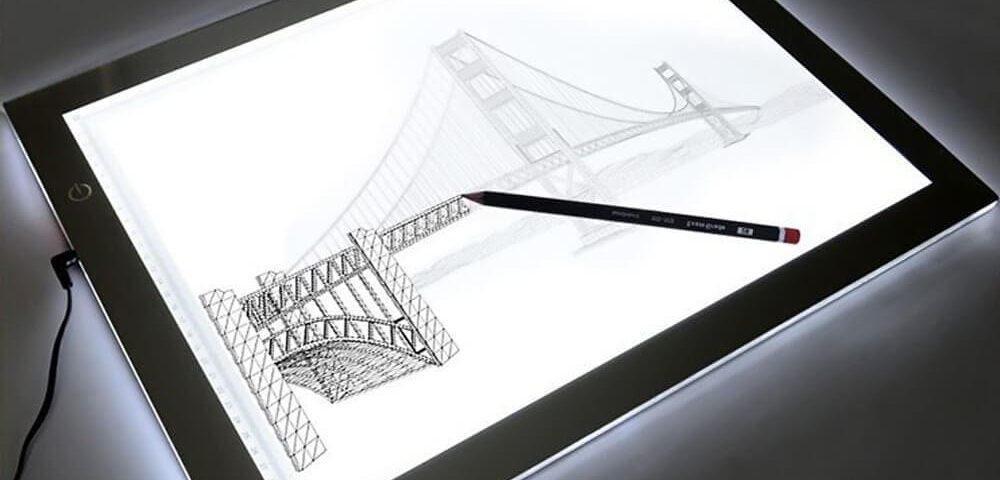 Световые планшеты для рисования на просвет