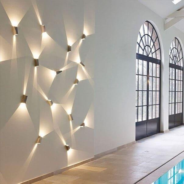 Настенный светодиодный светильник Луч поможет подчеркнуть индивидуальность вашего интерьера
