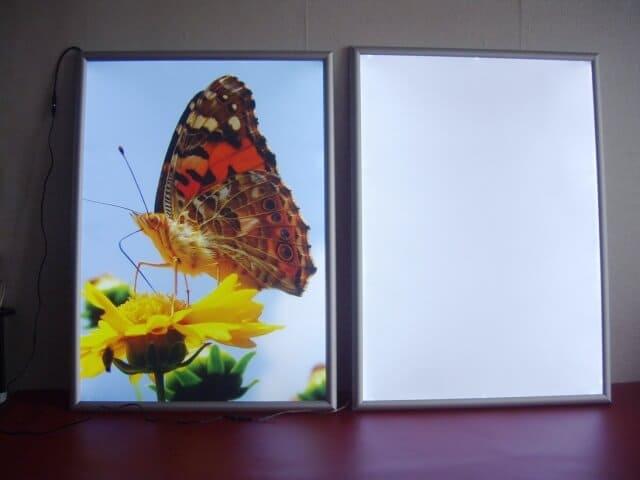 Тонкие световые панели «Фреймлайт»