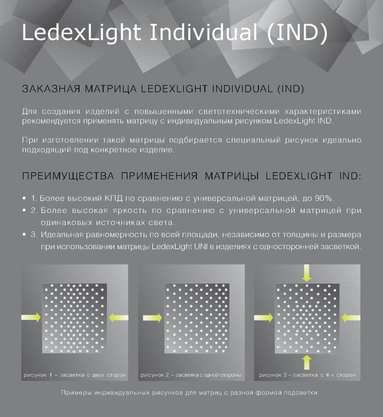 Ledexlight Individual