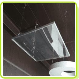 Прозрачные светильники