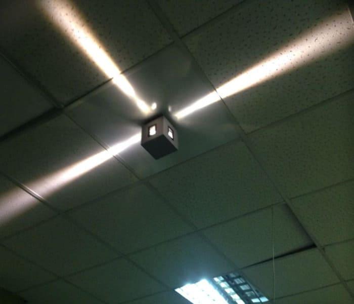 Настенный светодиодный светильник ЛУЧ фото